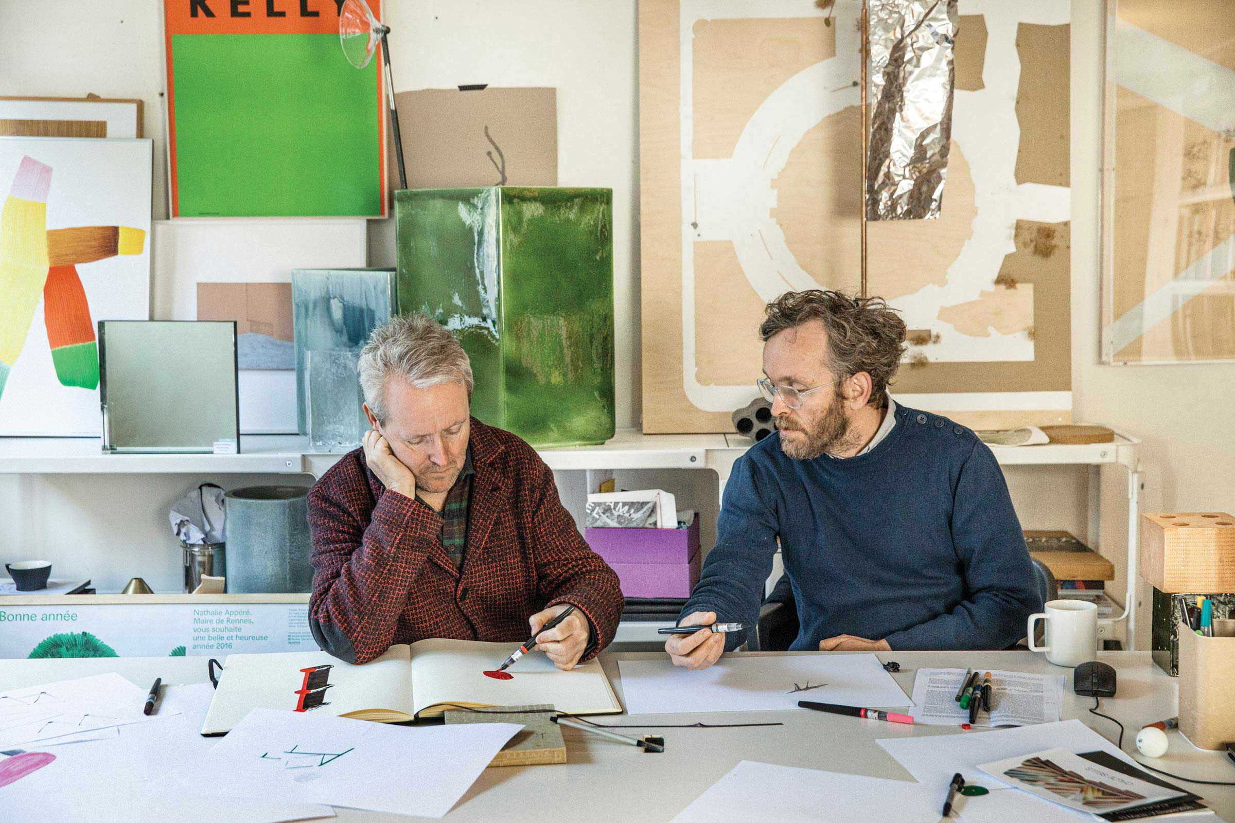 Ronan and Erwan Bouroullec on Making (and Breaking) Objects Every Day